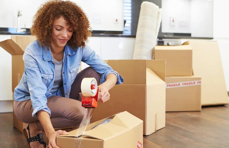inpakken verhuisdozen